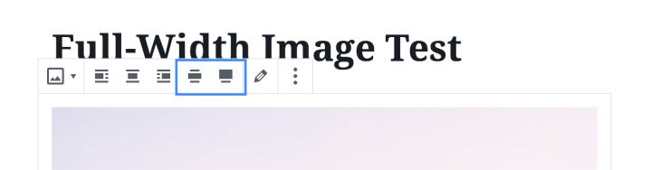 Gutenberg Image Block Updated Options